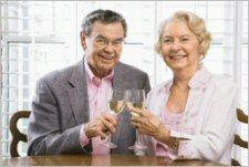 Celebrate the 50th anniversary with a fitting toast.