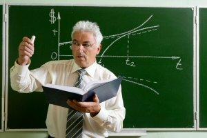 math teacher in class